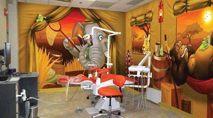 clínica odontológica infantil
